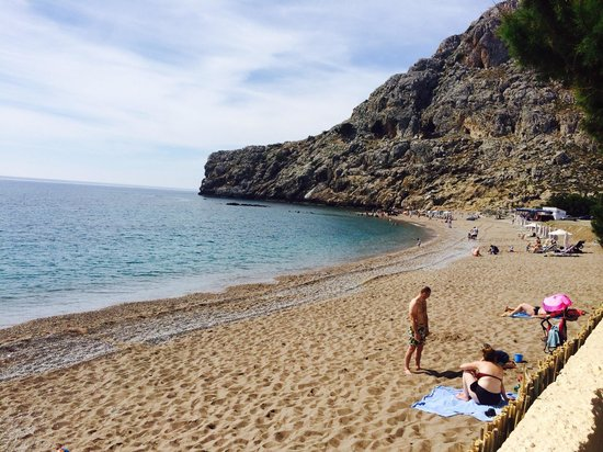 Atlantica Club Aegean Blue: Beautiful beach