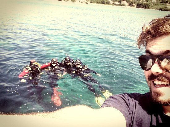 Croatia Divers Vela Luka: The gang after 5 days of diving together
