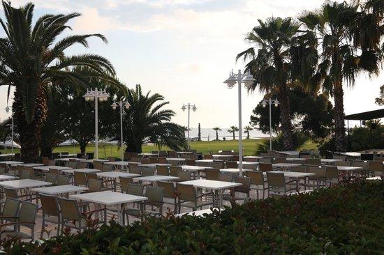 Turquoise Resort Hotel & Spa: restorandan görünüm