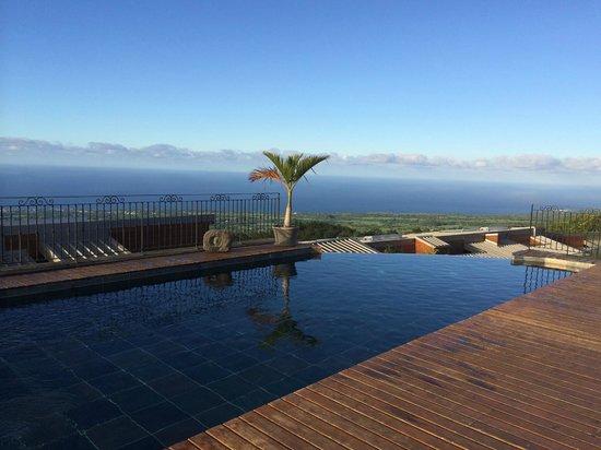 Diana Dea Lodge : piscine à débordement chauffée