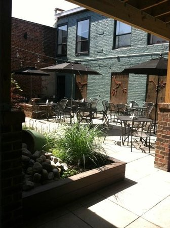 23rd & Main Taproom & Kitchen: Patio - we are dog friendly!