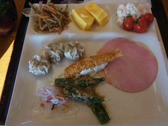 Himeyado Hanakazashi: 朝食
