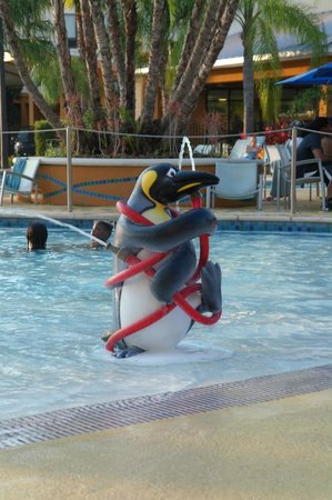 SpringHill Suites by Marriott Orlando at SeaWorld: Splash zone/pool
