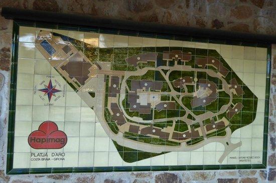 Hapimag Resort Mas Nou: Lageplan