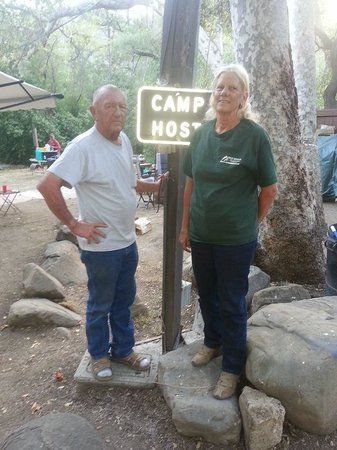 Wheeler Gorge Campground: Great new hosts