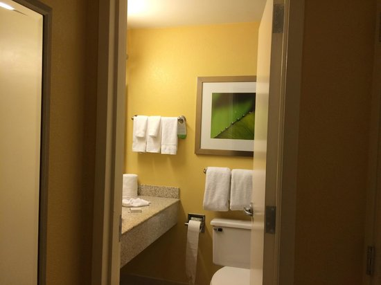 Courtyard by Marriott New Orleans Downtown Near the French Quarter: Nice bathroom