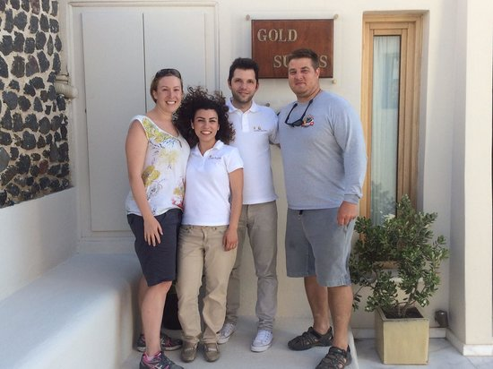 Gold Suites : Went on vacation to see a beautiful remote island and the highlight was the amazing staff!!! Tha