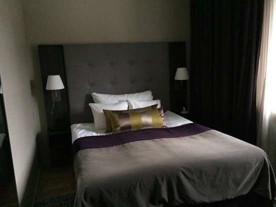 Clarion Hotel Post: Standard room, perfectly adequate and beautifully fitted with designer furniture