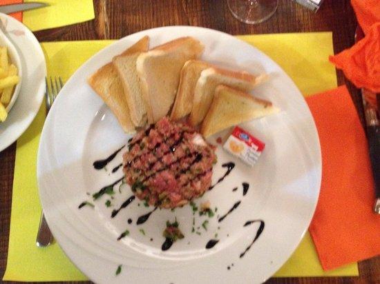 Le Carnotzet: Tartare de bœuf