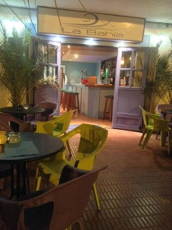 La Bahía: Just as they were closing! Great night!