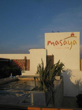 Masaya Hostel Santa Marta: TERRAZA