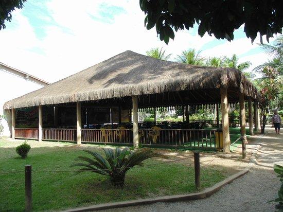 Itaguai, RJ: um dos salões...