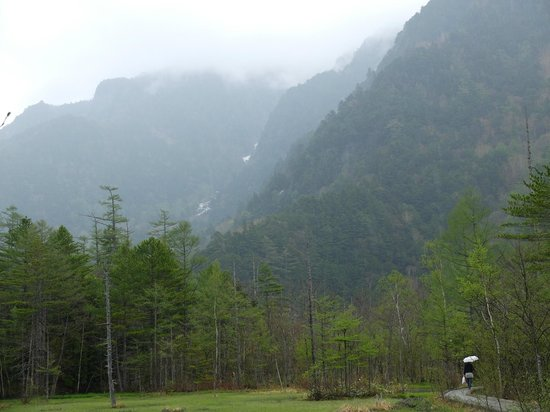 A rainy day in Kamikochi