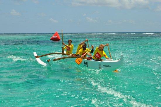 OC4 Island: Aloha spirit race 2014