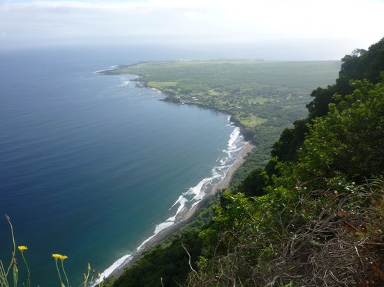Molokai Mule Ride : The view from the trail
