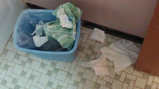 Budget Inn Ontario: bathroom