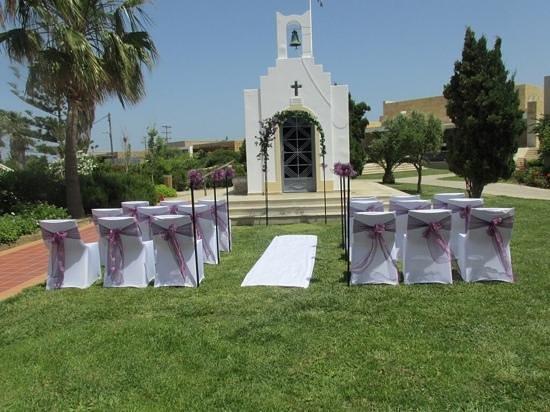 Pelagos Suites Hotel: the wedding chapel