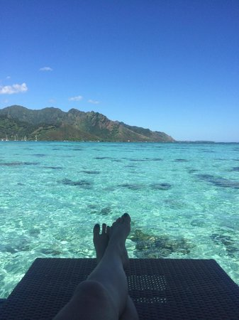 Hilton Moorea Lagoon Resort & Spa : view