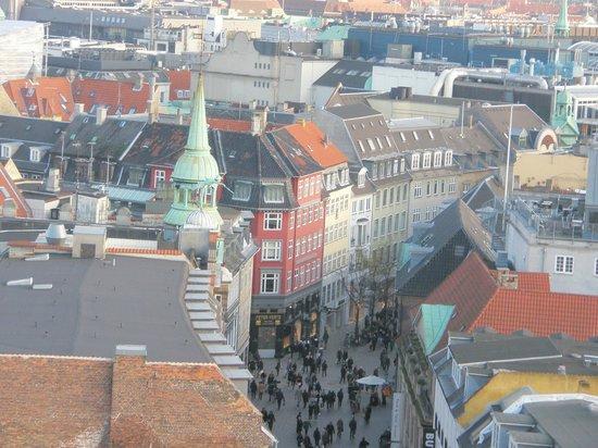 Torre Redonda (Rundetårn): Вид со смотровой