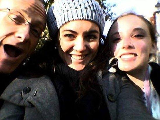 Buenos Aires Concierge: Our selfie with Mariela.