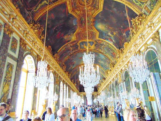 Château de Versailles : Hall of Mirrors