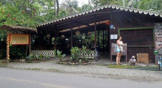 La Botanica Organica Cafe: front entrance