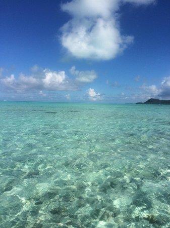 Le Meridien Bora Bora: water