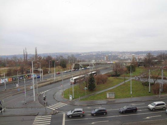 Novum Hotel Vitkov Prag: view