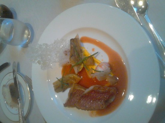 Simon Radley at The Chester Grosvenor: My wife's main course
