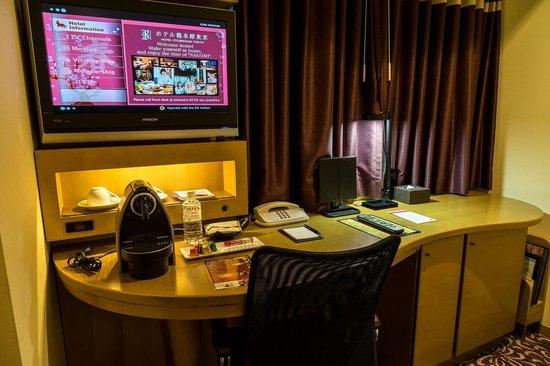 Hotel Ryumeikan Tokyo: Room