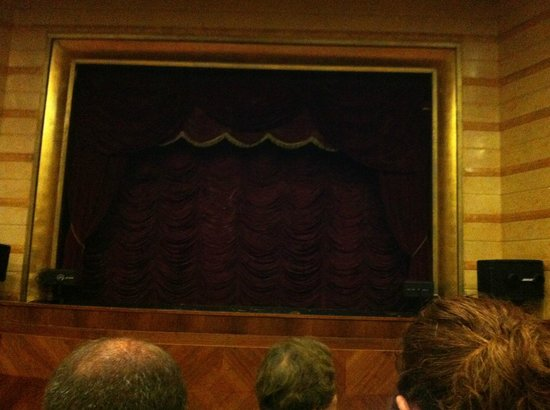 National Marionette Theatre: inside stage