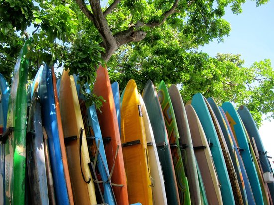 Balian Beach: Surf board hire