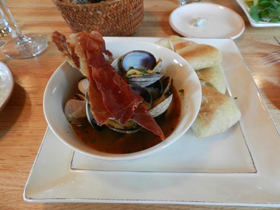 229 Parks Restaurant and Tavern: Local Clams - The Broth was to die for