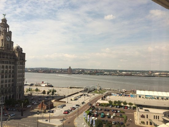 Mercure Liverpool Atlantic Tower Hotel : View from our room