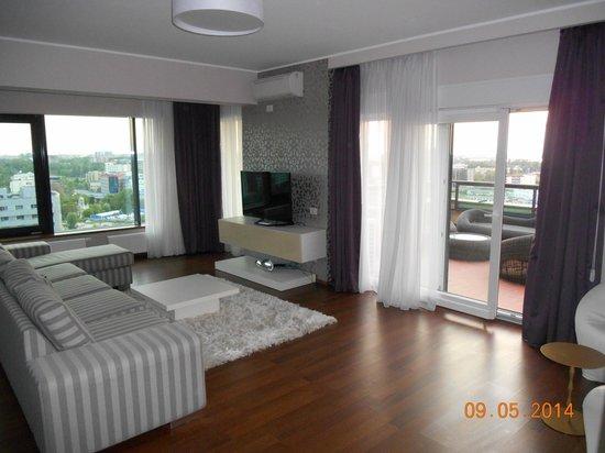 Orhideea Residence & Spa: Living room