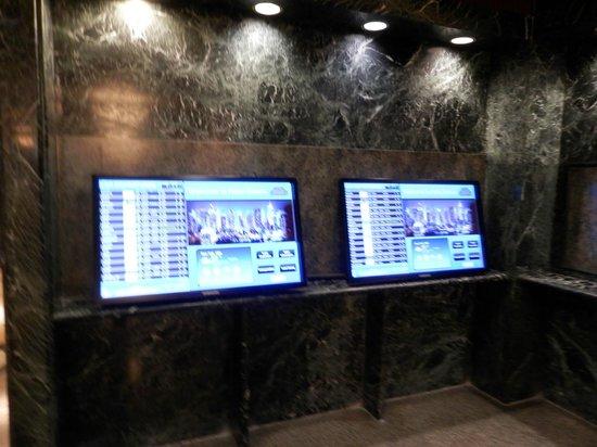Hotel Edison Times Square: Muito interessante o Hotel tem um painel conectado ao dos Aeroportos com os horários de chegada