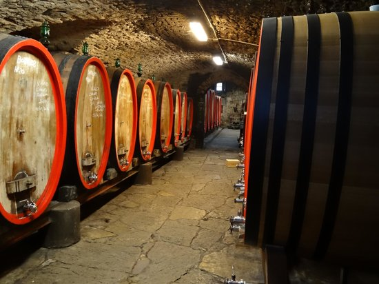 Tuscan Trails: Castle - Wine Storage