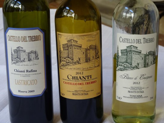 Tuscan Trails: Castle - Wines Tasted