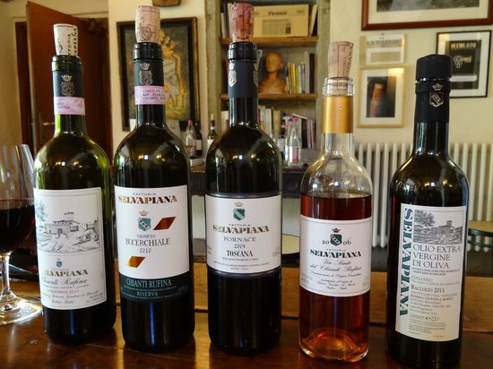 Tuscan Trails: Family Winery - Wines Tasted