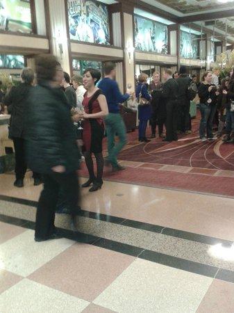 Hotel Edison Times Square : Tarde de queijos e vinhos