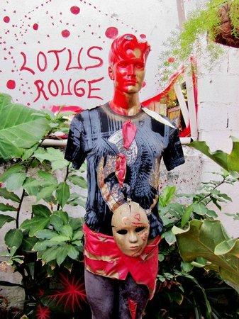 Le Lotus Rouge: Le Lotus art