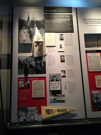 Newseum : Women's suffrage movement