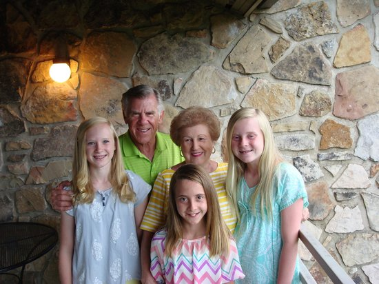 The Highlands Condominium: Mimi, Papa & 3 grandchildren