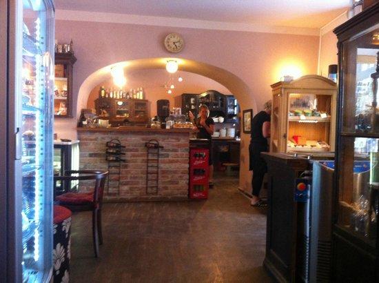 Choco Cafe U Cervene Zidle : entrance