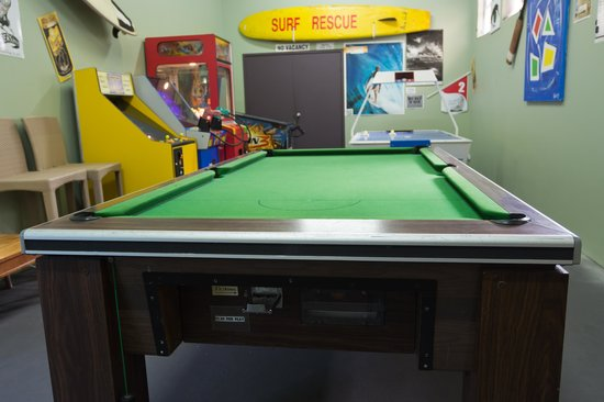 Coolum Beach Resort: Games Room