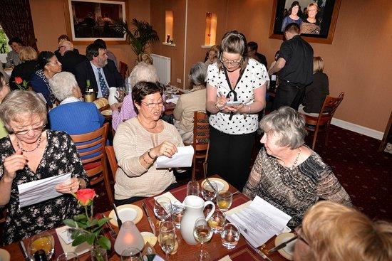 Carrick Lodge Restaurant: Efficient Service