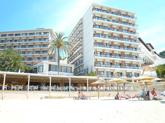 Be Live Adults Only Marivent: vu de la plage
