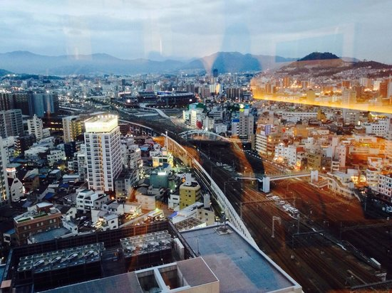 Sheraton Grand Hotel Hiroshima: Great view from 20th floor!