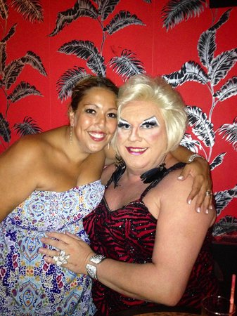 Rich Bitch Show Bar : Me and the lovely Ms Rivers xx