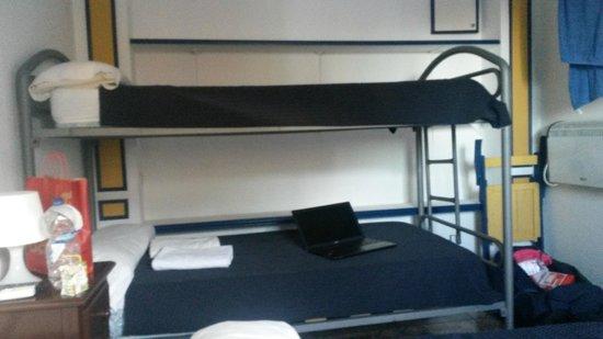 Pension Nuevo Pino: Comfortable bunk beds
